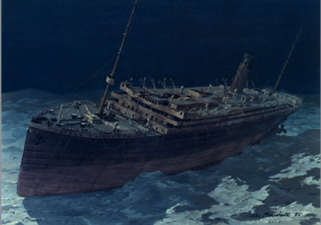06 - This is what we thought she039d look like before she was discovered in 1985 by Robert Ballard